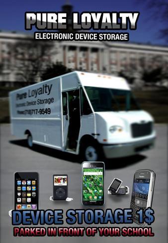 Larangan membawa ponsel ke sekolah memunculkan bisnis penyimpanan
