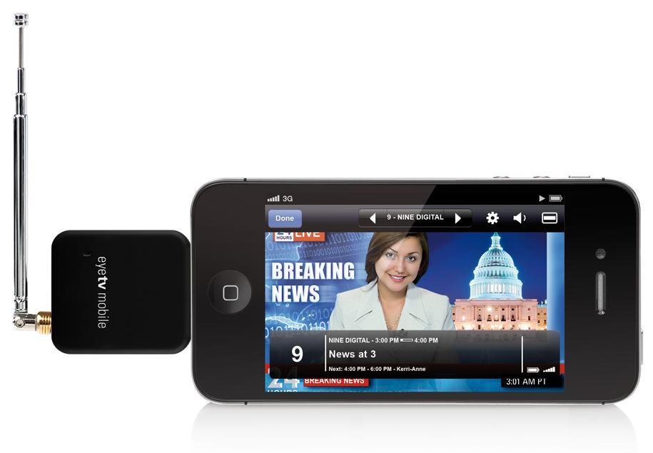 Dyle mobile TV: memberikan kemampuan kepada pengguna untuk menonton ...