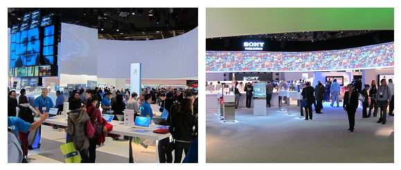 CES-2013-Samsung-Sony-exhibition
