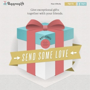 aggregift-homepage-screenshot