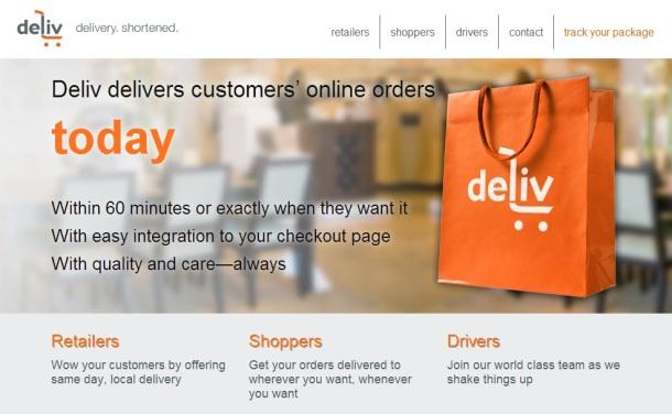 deliv-homepage-screenshot