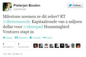 Pieterjan-Bouten-Showpad-Twitter