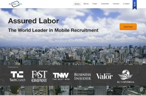 AssuredLabor-homepage-screenshot