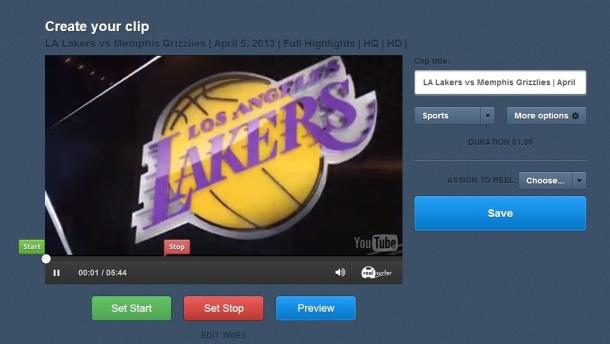 reel-surfer-create-your-clip-Lakers-screenshot