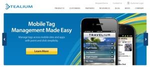 Tealium-homepage-screenshot