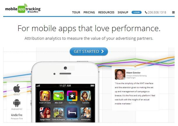 Mobile-app-tracking-by-has-offers-homepage