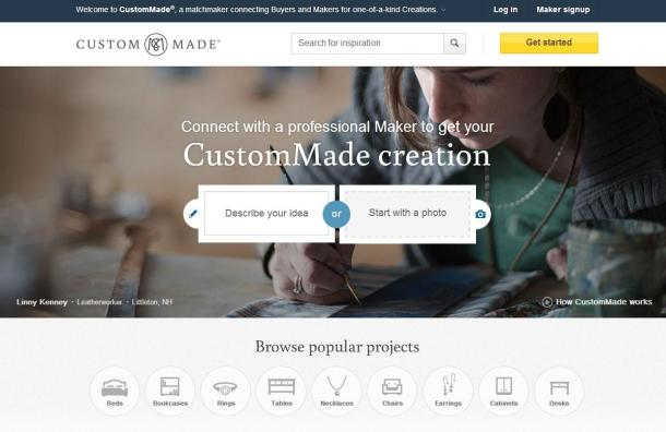 CustomMade-homepage-screenshot