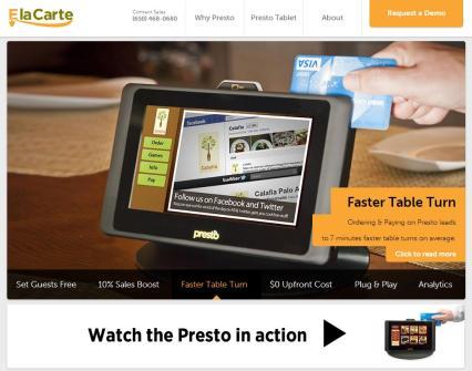 elacarte-homepage-screenshot