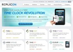 Replicon-homepage-screenshot