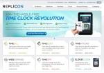 Replicon-homepage-screenshot