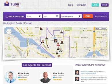Zubii-homepage-screenshot