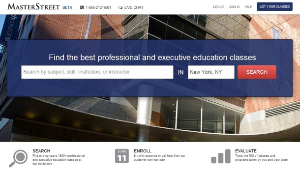 Master-Street-homepage