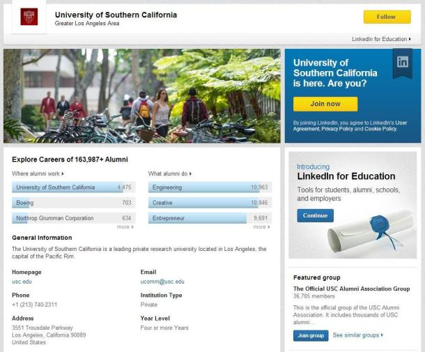 Linked-In-University-Pages-USC