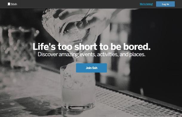 Sosh-homepage