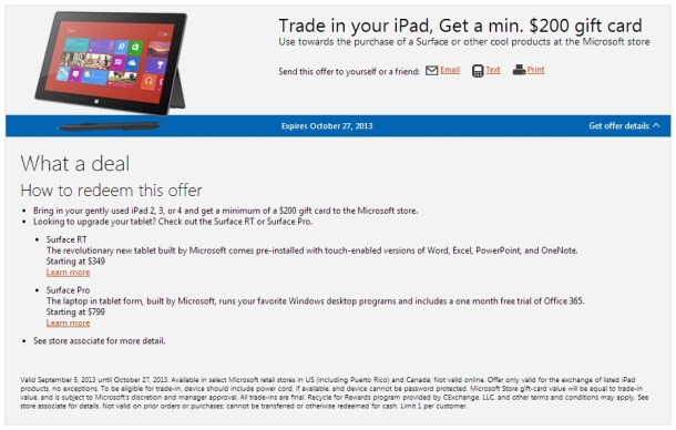 Microsoft-Store-iPad-trade-$200-gift-card
