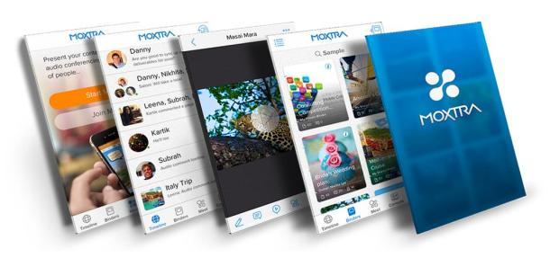 Moxtra-homepage