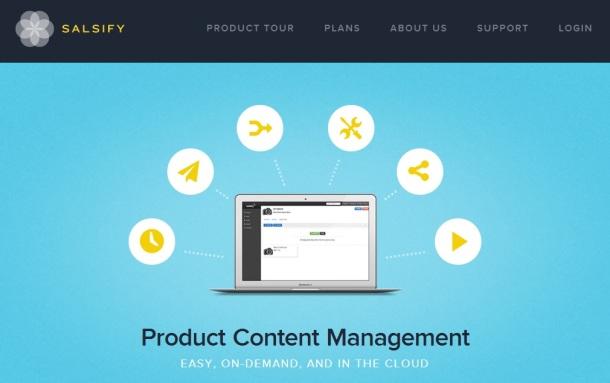 Salsify-homepage