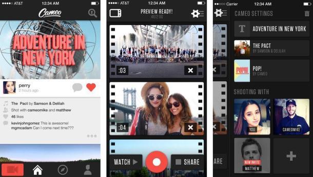 Cameo-iOS-app
