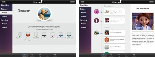 Kidaptive-iOS-iPad-screenshots