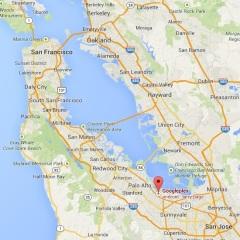 San-Francisco-Googleplex-map
