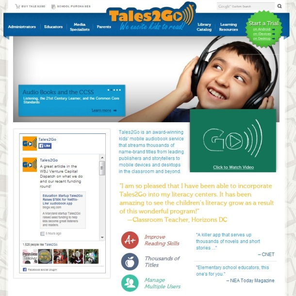 Tales2Go-homepage-