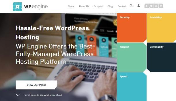 WPEngine-homepage