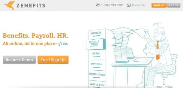 Zenefits-homepage-screenshot