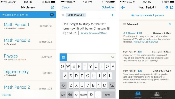 Remind101-iOS-screenshot