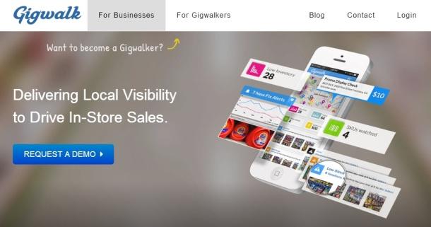 Gigwalk-homepage