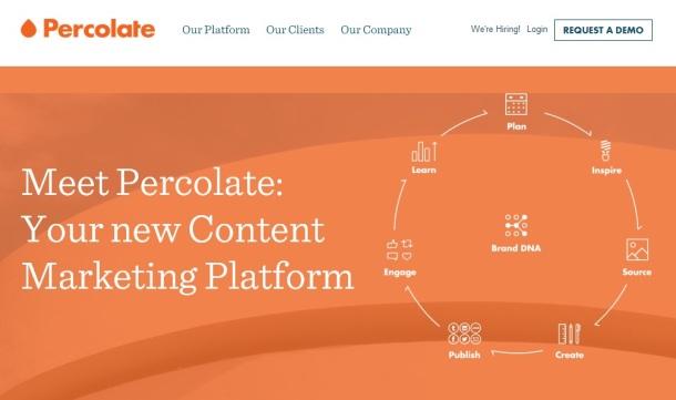 Percolate-homepage