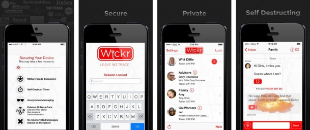 Wickr-iOS-app-screenshot