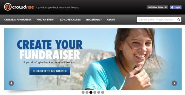 crowdrise-homepage
