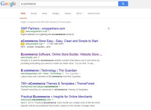Salah satu contoh Native Ads yang diterapkan Google baru-baru ini