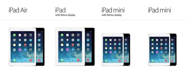 Apple-iPad-compare-Air-Mini
