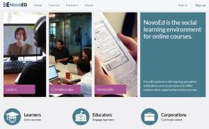 NovoED-homepage