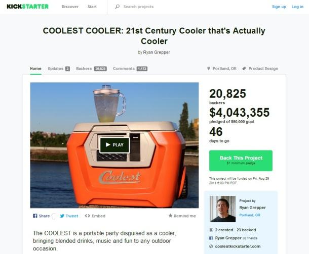 Coolest-cooler-Kickstarter