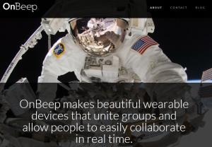 OnBeep-homepage