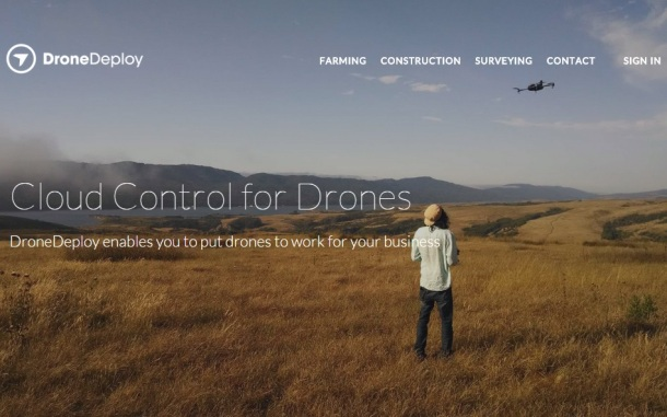 DronwDeploy-homepage