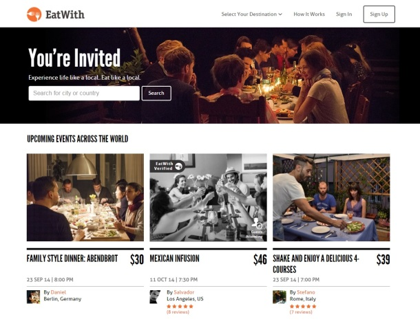 EatWith-homepage