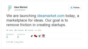 Idea-Market-launching