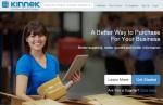 Kinnek-homepage-screenshot