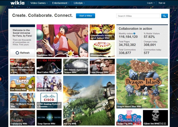 Wikia-homepage-screenshot
