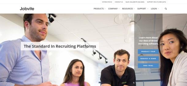 Jobvite-homepage