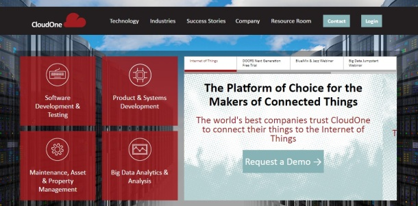 Cloud-One-homepage