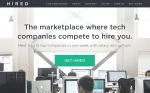 Hired-homepage