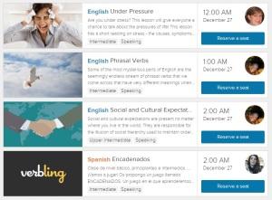 Verbling-homepage
