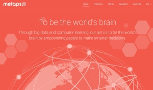 Metaps-homepage