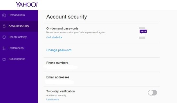 Yahoo-email-on-demand-passwords-text-sms-
