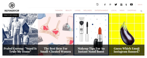 Refinery29-homepage