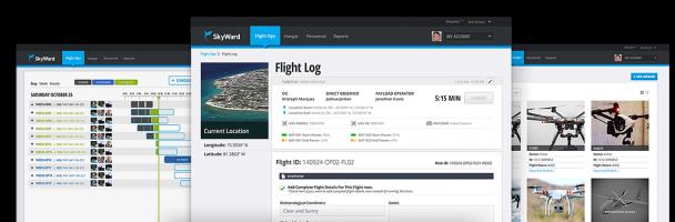 SkyWard-homepage